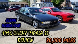 The Ghetto Mechanic 1996 CHEVY IMPALA SS LT1 REVIEW & WALK AROUND