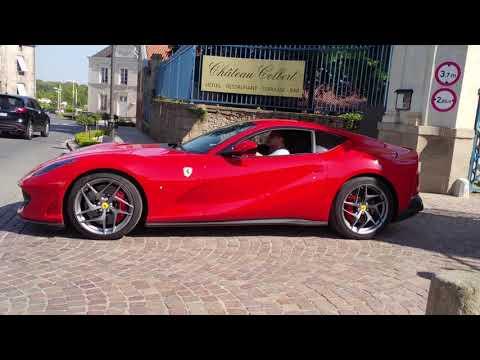 Club Ferrari France 2018 : Deux Ferrari 812 Superfast Et Une Ferrari 488 GTB Spider !!