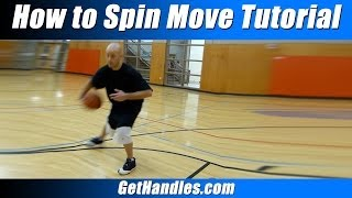 How to spin move tutorial! basketball basics for beginners