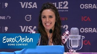 Press Conference: Jamala wins the Eurovision Song Contest | Джамала