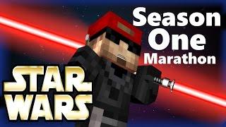 Minecraft Star Wars: The Force Awakens (Minecraft Roleplay) Season 1 Marathon! Ep 1-10 w/ Xylophoney