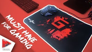 Best Budget Gaming Mouse Pad: Red Gear MP35 MousePad | Hindi
