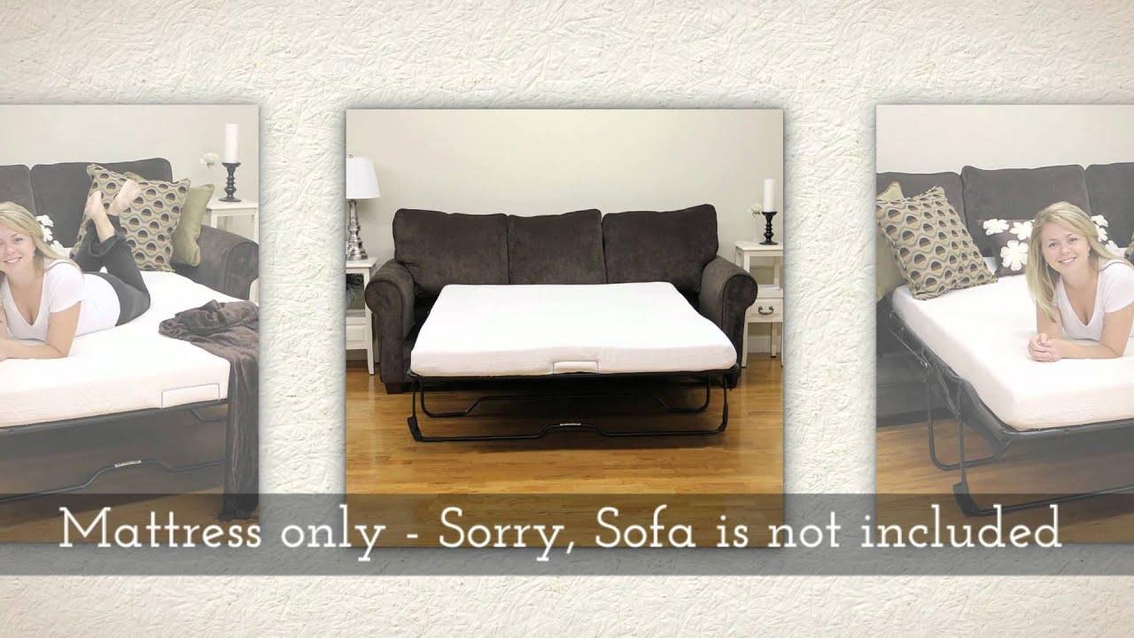 Classic Brands 4 5 Inch Memory Foam Sofa Bed Mattress