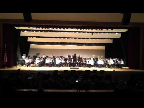 Clarence Middle School 7th grade band