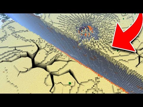 How to Make A Realistic EARTHQUAKE in Minecraft Tutorial! (Pocket Edition, Xbox, PC)
