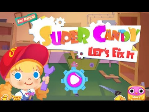 Super Candy Let's Fix It Libii Educational Android İos Free Game GAMEPLAY VİDEO
