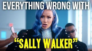 "Everything Wrong With Iggy Azalea - ""Sally Walker"""