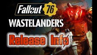 Fallout 76 Wastelanders Release Bundle Details & Launch Date Revealed