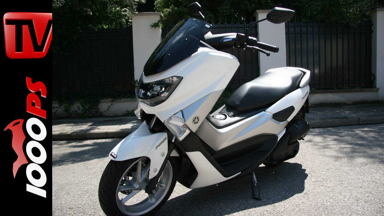 video 2015 yamaha nmax 125 test 125er roller testserie. Black Bedroom Furniture Sets. Home Design Ideas