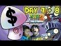 Plants vs. Zombies 2 DARK AGES Day 7 + 8: Dad gets Mushy + Hypno $hroom! PVZ iOS Face Cam w/ Son!