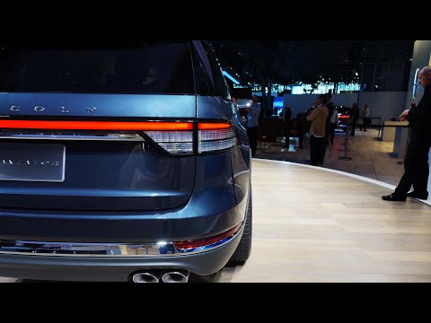 2020 Lincoln Aviator Preview Up Close