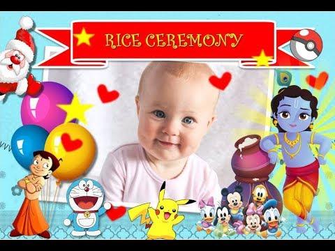 Rice Ceremony Invitation Video