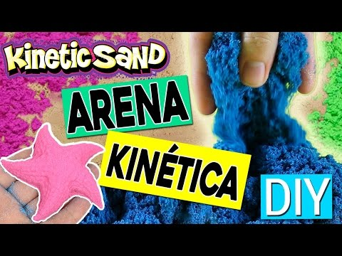DIY Kinetic MOVING Sand * Arena KINÉTICA Casera ✅  Top Tips & Tricks in 1 minute