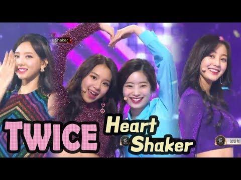 [2017 MBC Music festival]TWICE - Heart Shaker,트와이스 - Heart Shaker 20171231