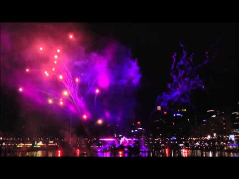 Sydney Darling Harbour Fireworks - Australia Day 2014