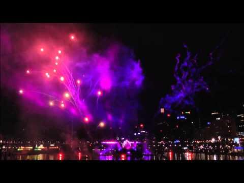 Sydney Darling Harbour Fireworks - Australia Day 2014
