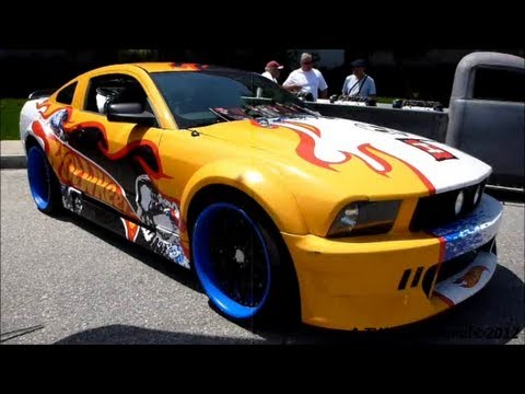 hotwheels ford mustang gt epic paint job real scale - Real Hot Wheels Cars
