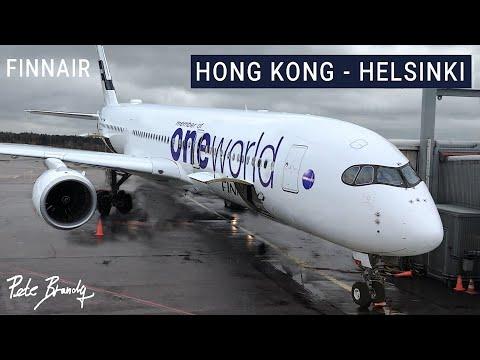 TRIP REPORT | Finnair | Airbus A350-900 | Hong Kong - Helsinki | Economy