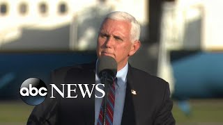 ABC News Live Update: COVID-19 outbreak in Pence's orbit