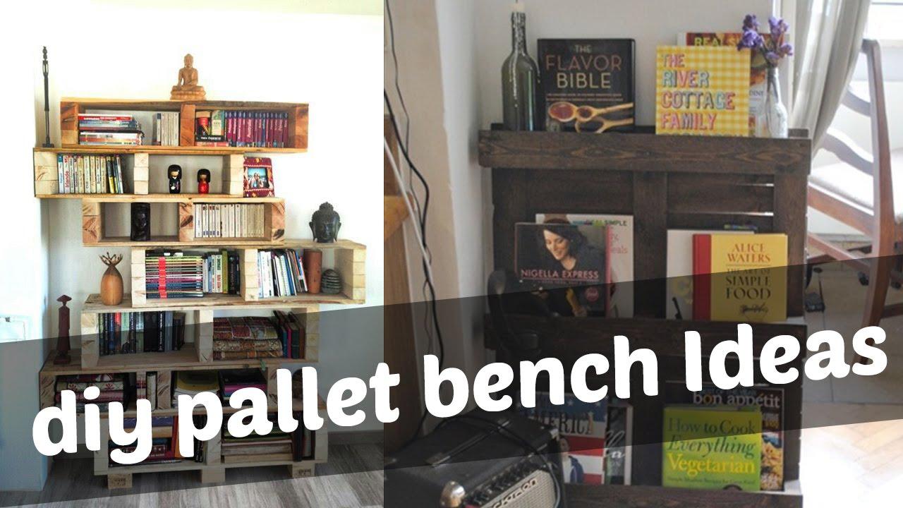 DIY Pallet Bookshelf Ideas