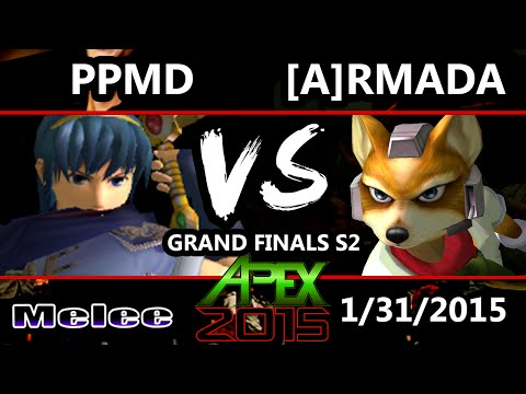Apex 2015 - Armada (Fox) Vs. PPMD (Marth, Falco) - Grand Finals - SSBM