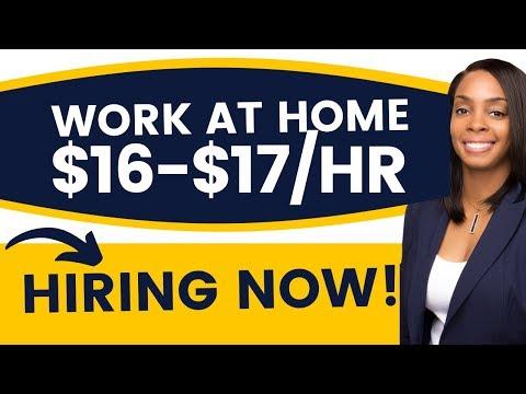 NEW! Remote Customer Service Job $16 Hourly *Immediate Hire*