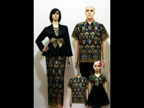 Koleksi Model Baju Batik Couple Keluarga Lengkap Terbaru Untuk Lebaran