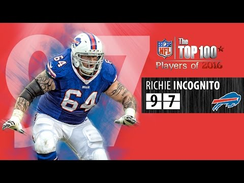 #97: Richie Incognito (G, Bills) | Top 100 NFL Players of 2016