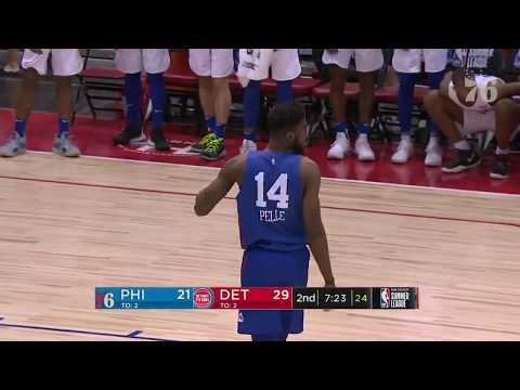 Marial Shayok | Highlights vs Detroit Pistons (7.10.19)