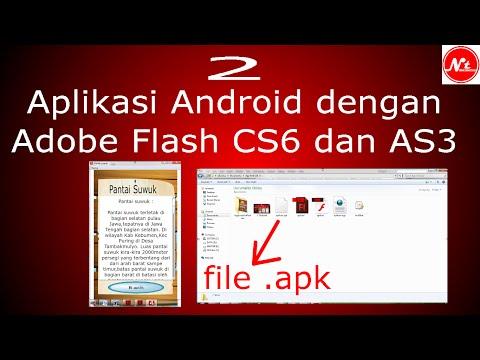 ... -Download] Cara Membuat Aplikasi Android Menggunakan Adobe Flash Cs6