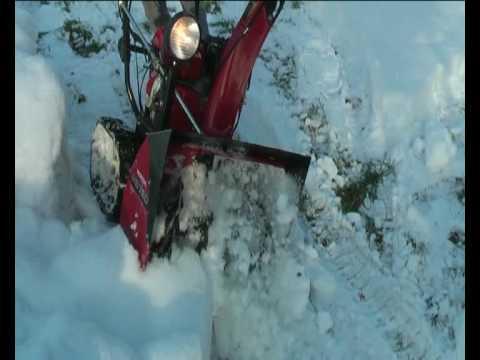 Schneefräse Honda HS 760 T - YouTube