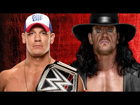 john cena vs the undertaker wrestlemania 33 promo hd youtube