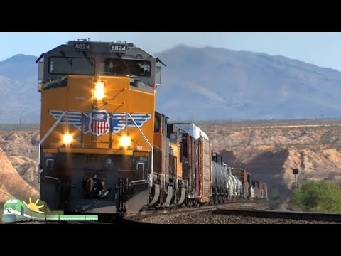 TRAINS on Parade!  South-Central Arizona Railfanning
