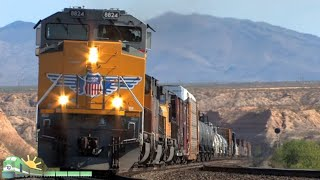 TRAINS on Parade!  South-Central Arizona Railfanning