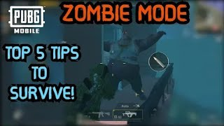 Pubg Mobile Zombie Mode Top 5 Tips & Tricks to Survive