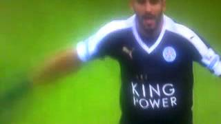 تقرير رائع للاعب الجزائري رياض محرز وتتويجه في قناة bein sport