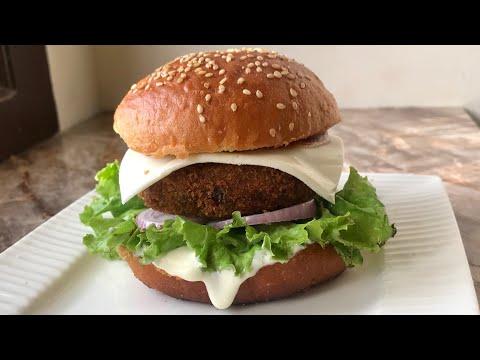 Veg burger recipe 100 tastier than mc Donald s burger