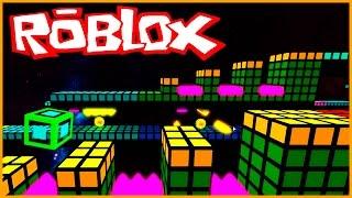 GEOMETRY DASH EN ROBLOX! - Roblox en español