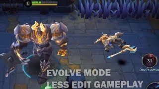 BAD COMENTARY EVOLVE MODE GAMEPLAY mobile legends