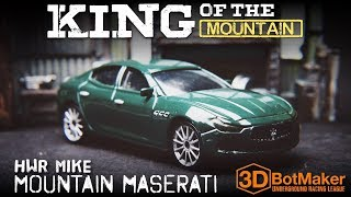 Terry Hill vs Hot Wheel Racer Mike - King of the Mountain Custom Diecast Racing