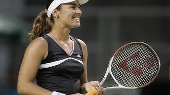 Martina Hingis vs Emma Laine 2006 AO R2 Highlights