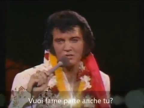 Welcome to my world - Aloha -   Elvis Presley (Sottotitolato)