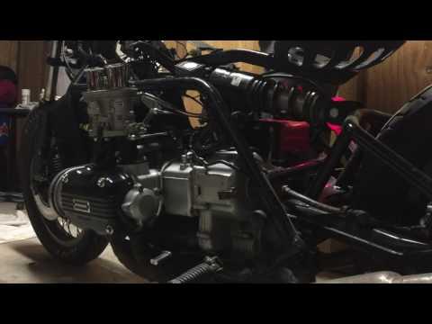 GL1100 and Solex 34 Pict 3  First start | FunnyDog TV