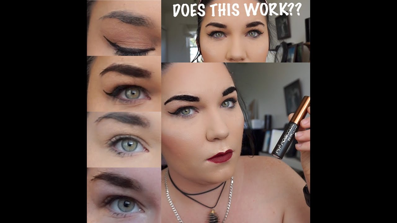 Peel Off Brows Does This Really Work Maybelline Tattoo Brow Tint Youtube