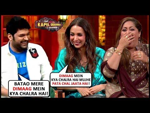 Kapil Sharma OPENLY Flirts With Malaika Arora, Geeta Maa And Terrence Lewis | The Kapil Sharma Show