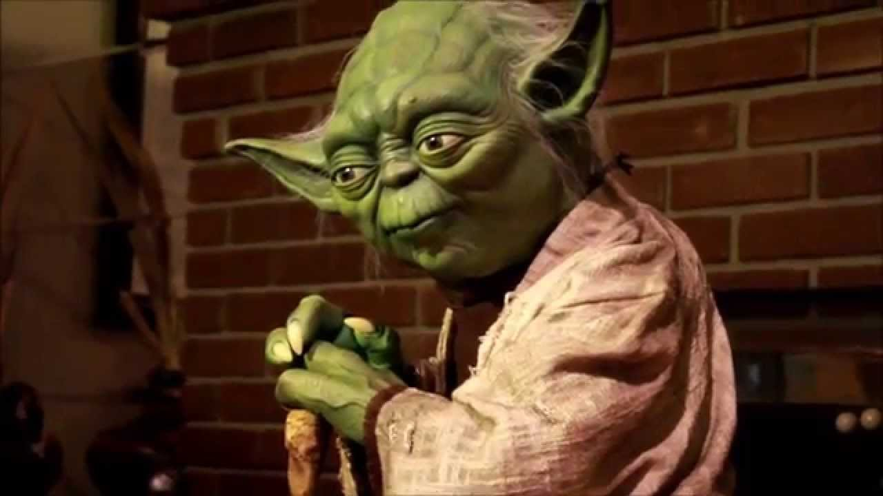 Life Size Yoda by Sideshow Collectibles - YouTube