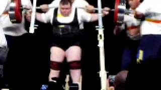 Galina Karpova  Squat 305kg World Games 2005