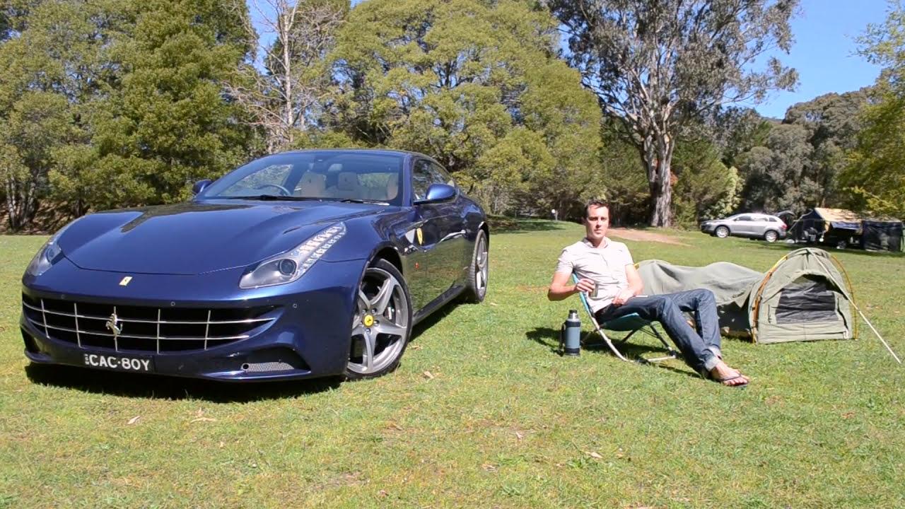 Ferrari FF Australian drive