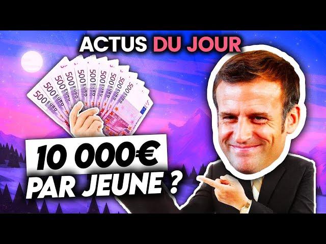 10 000€ par jeune proposés en prêt, reconfinement repoussé, Trump accusé... Actus du jour