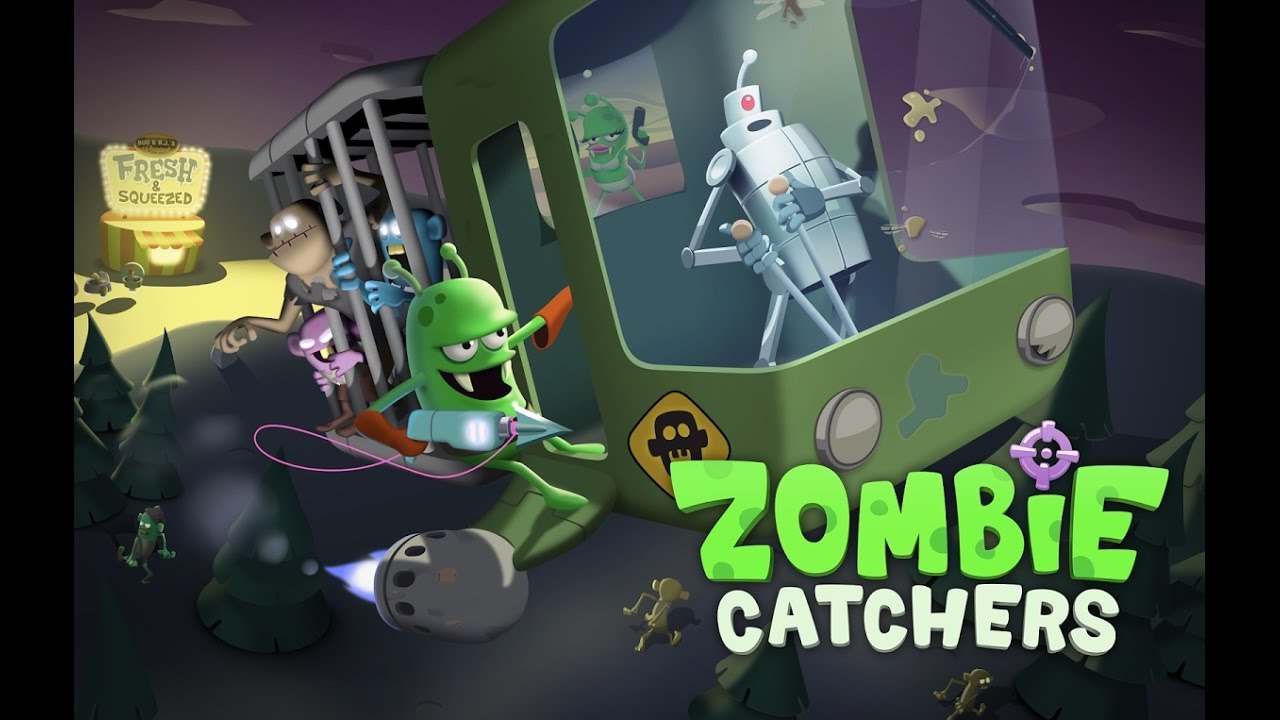 ZOMBIE CATCHERS Level 1 - 10 Android / iOS Gameplay Video ...